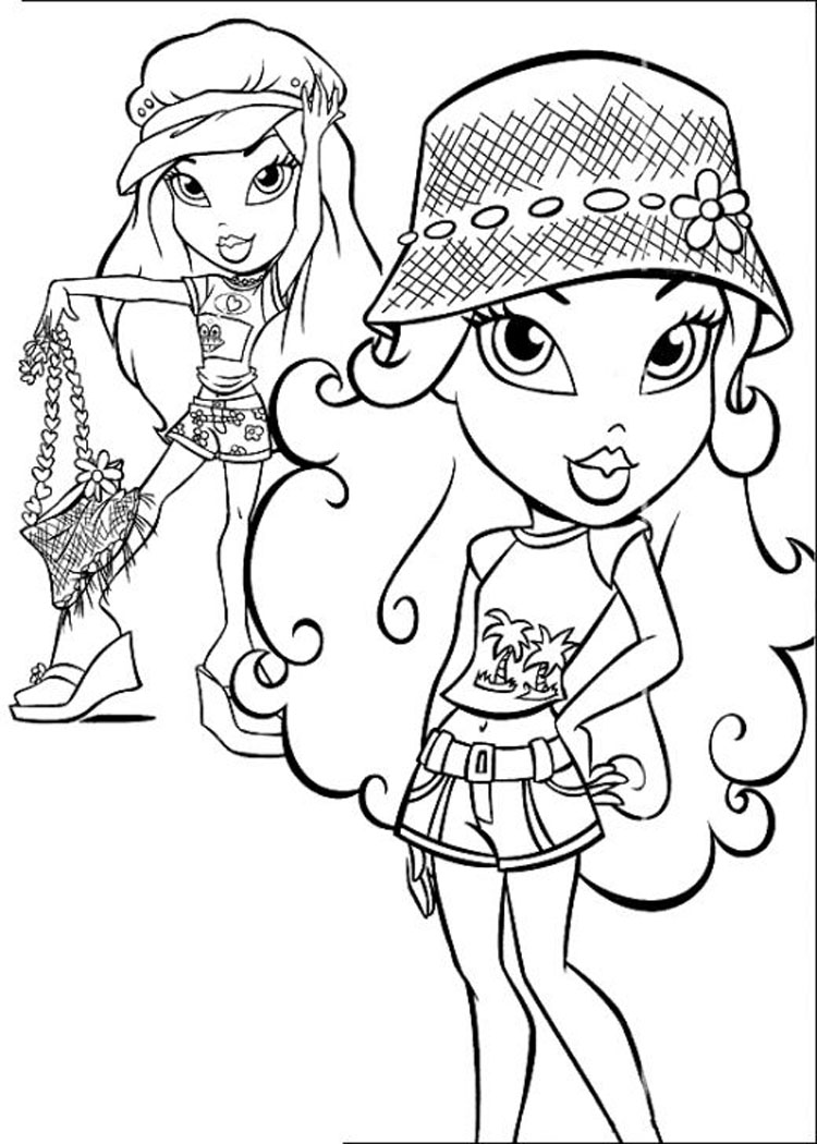 Bratz Coloring Pages 3