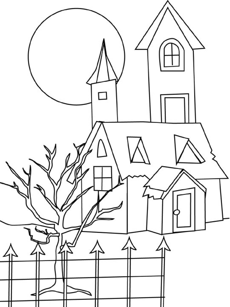 House Coloring Pages 6
