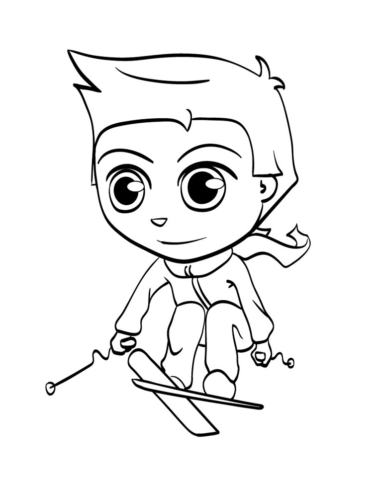 Kid Coloring Pages 10