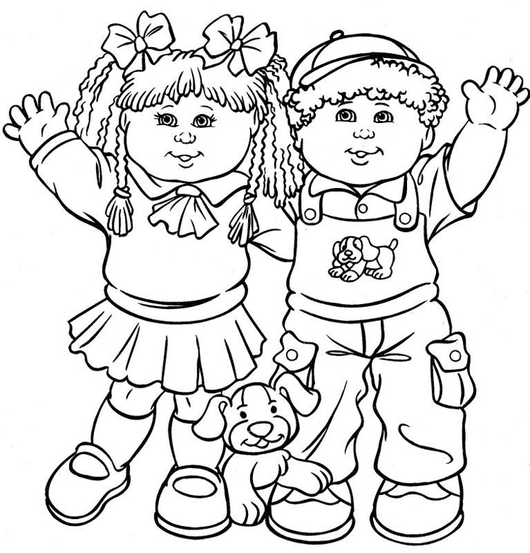 Kid Coloring Pages 5