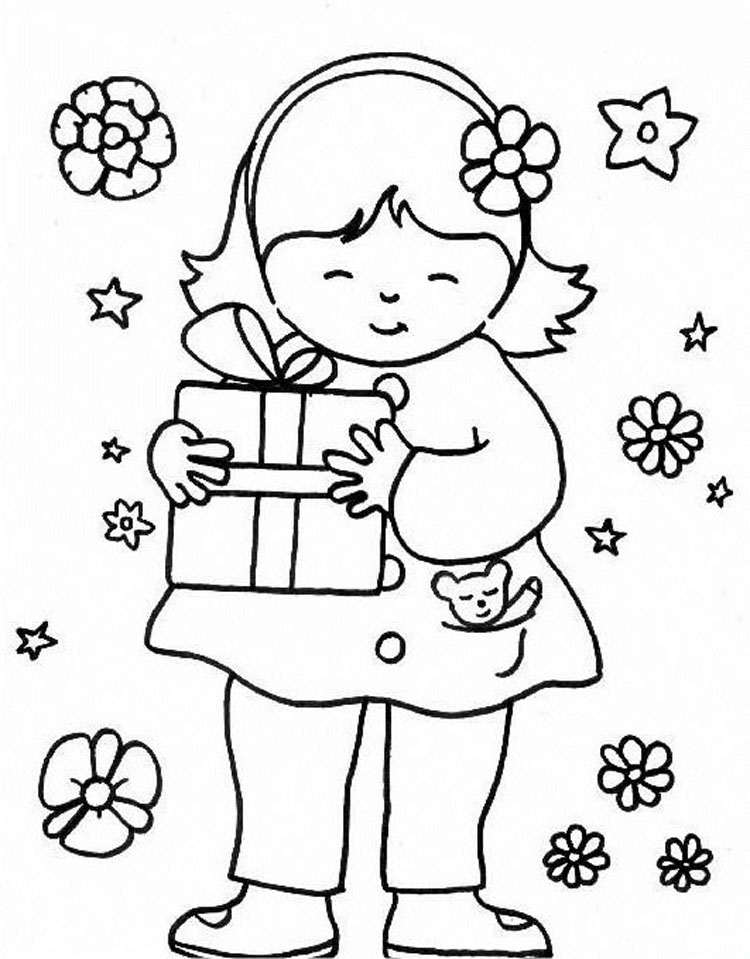 Kid Coloring Pages 8