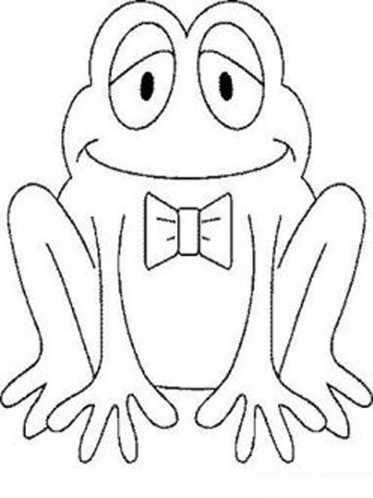 Preschool Coloring Pages 1