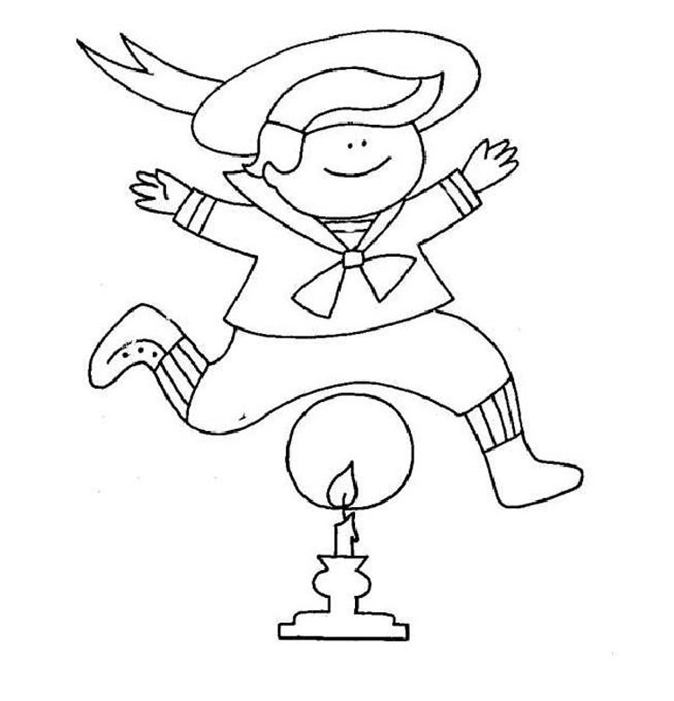 Preschool Coloring Pages 5