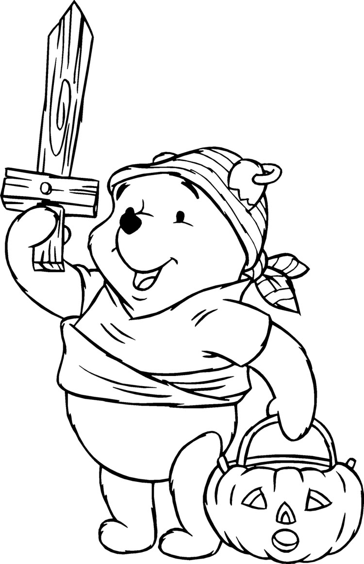 Winnie The Pooh Coloring Pages 3