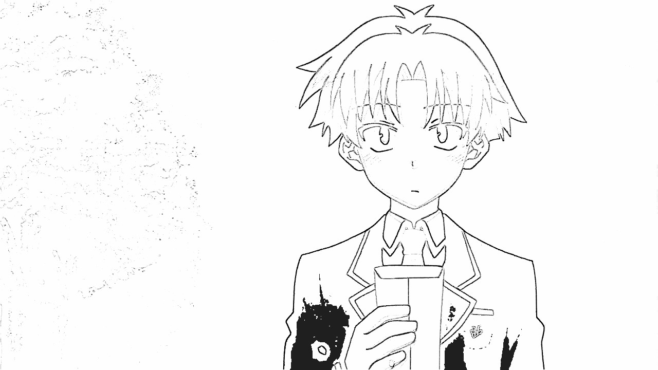 Baka and Test Coloring Pages 3
