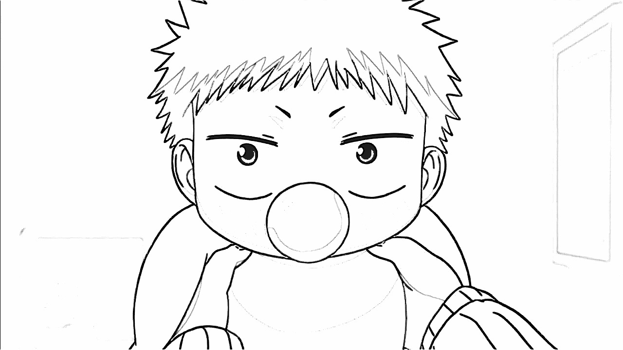 Beelzebub Coloring Pages 5