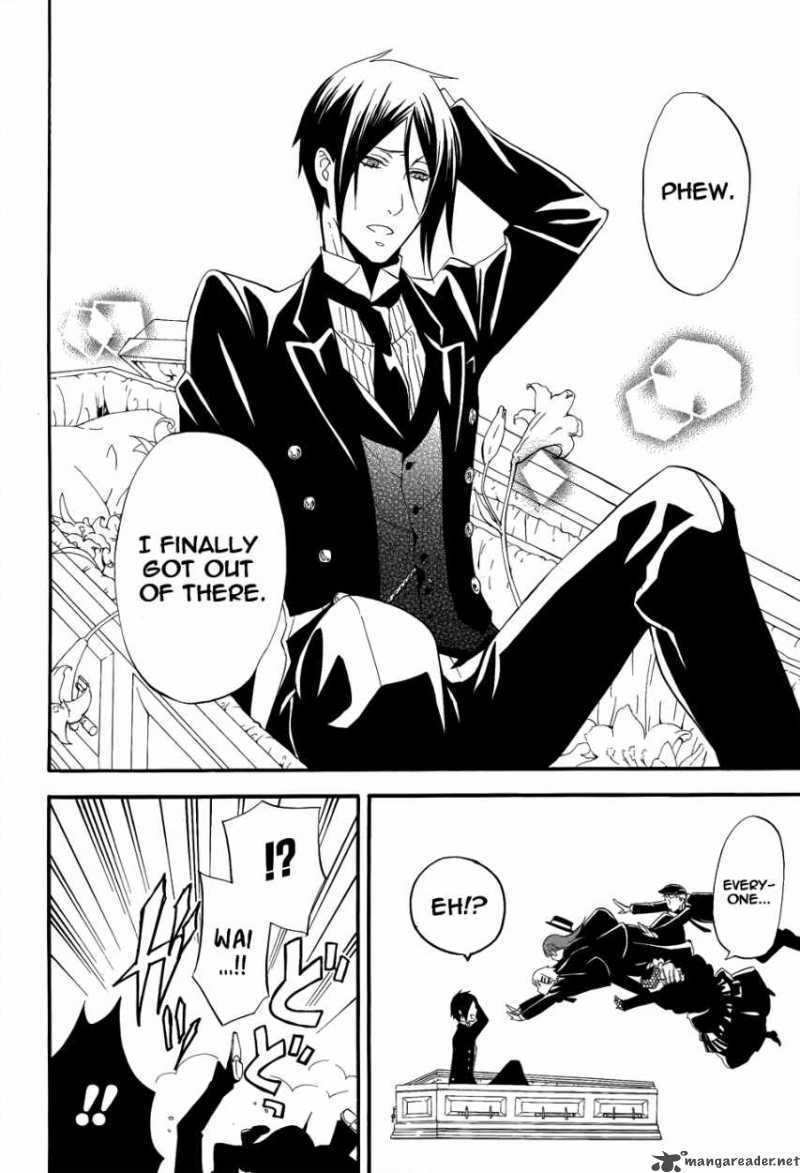 Black Butler Coloring Pages 1