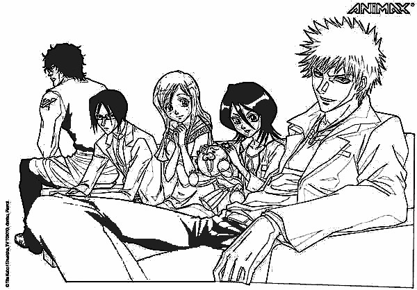 Bleach Season 2 Coloring Pages 2