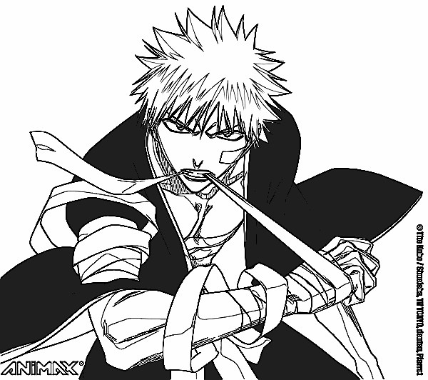 Bleach Season 2 Coloring Pages 7