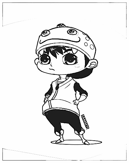 Boboiboy Coloring Pages 2