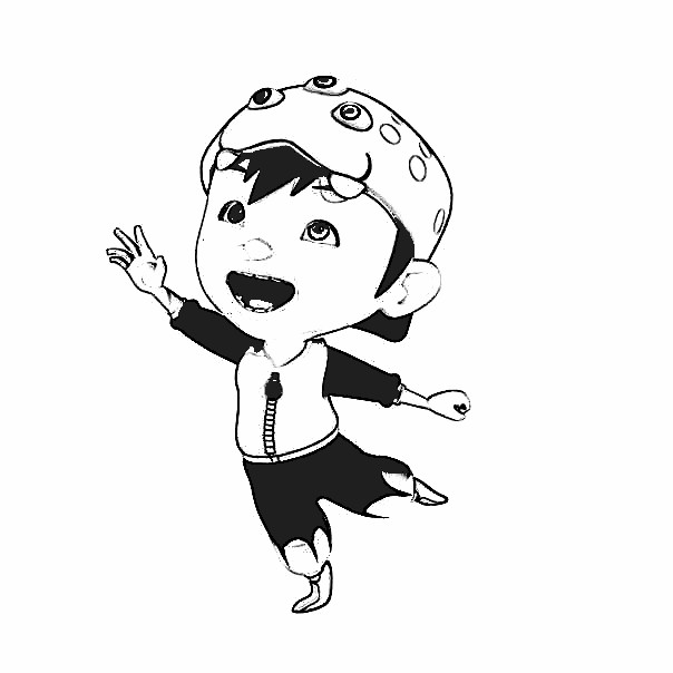 Boboiboy Coloring Pages 7