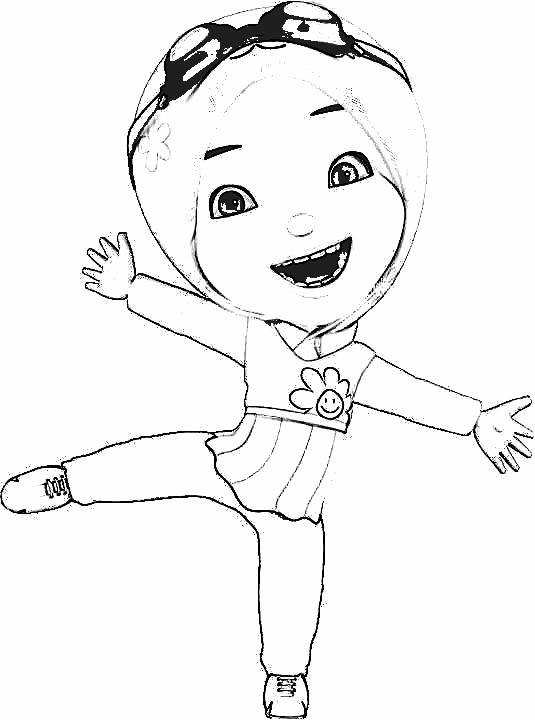 Boboiboy Coloring Pages 9