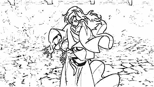 Book of Bantorra Coloring Pages 4