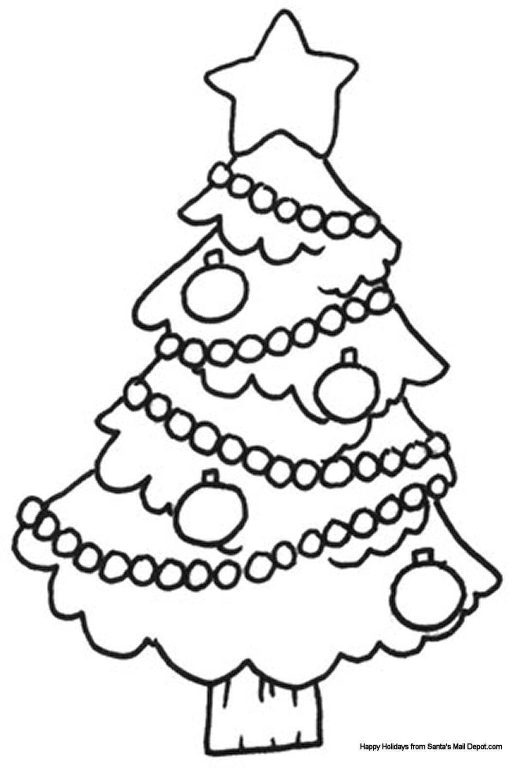 christmas coloring pages 8