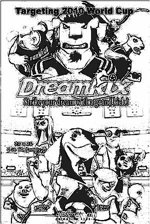 Dreamkix Coloring Pages 3
