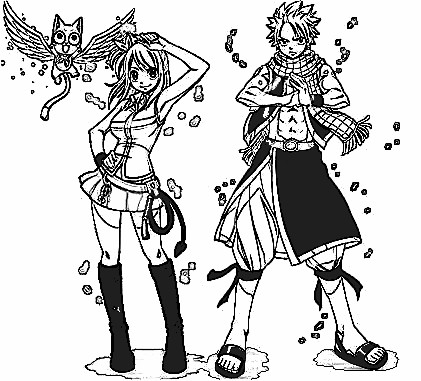 Fairy Tail Coloring Pages 5