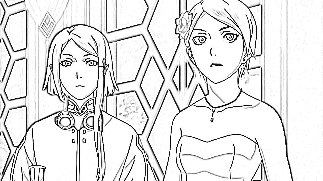 Last Exile Fam The Silver Wing Coloring Pages 2