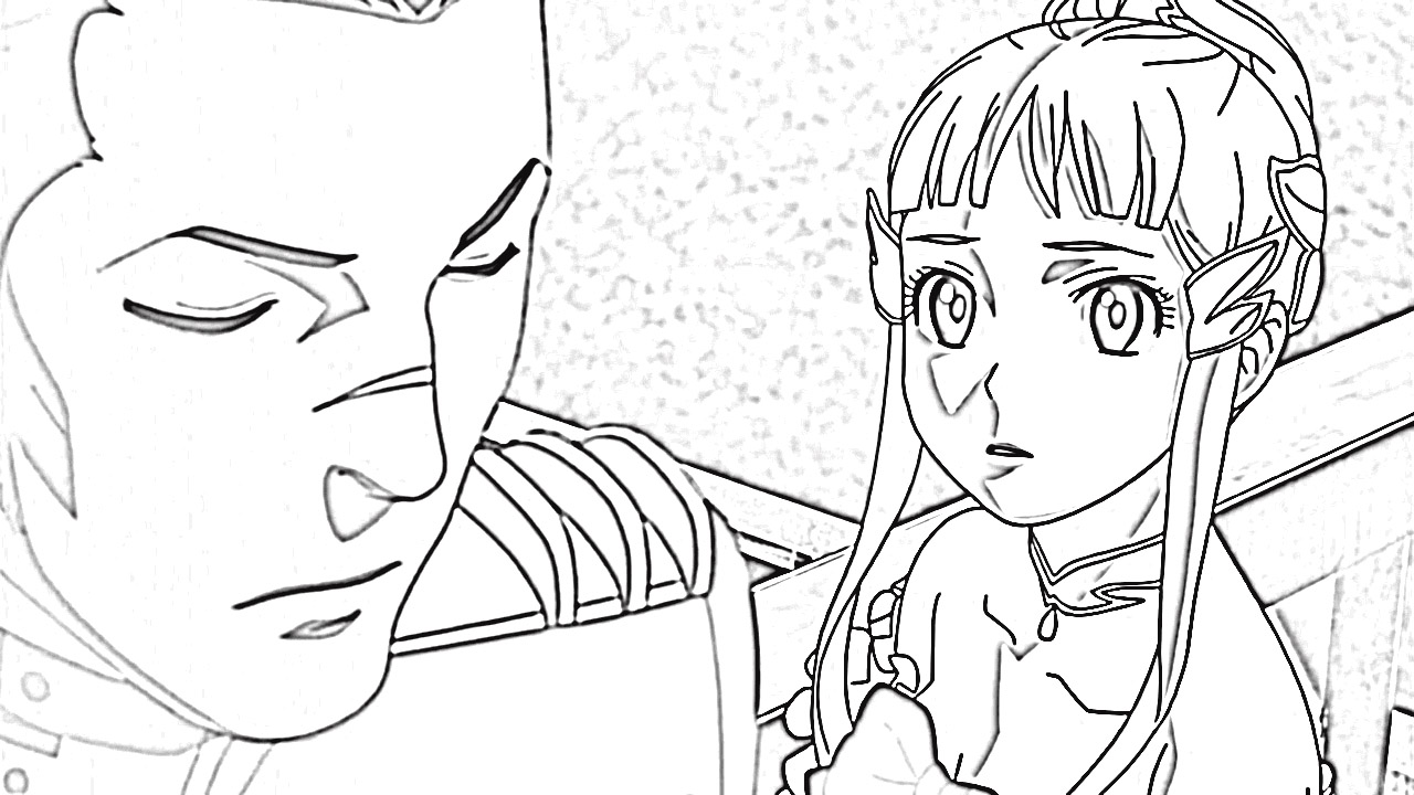 Last Exile Fam The Silver Wing Coloring Pages 3