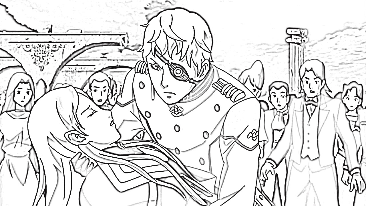 Last Exile Fam The Silver Wing Coloring Pages 4