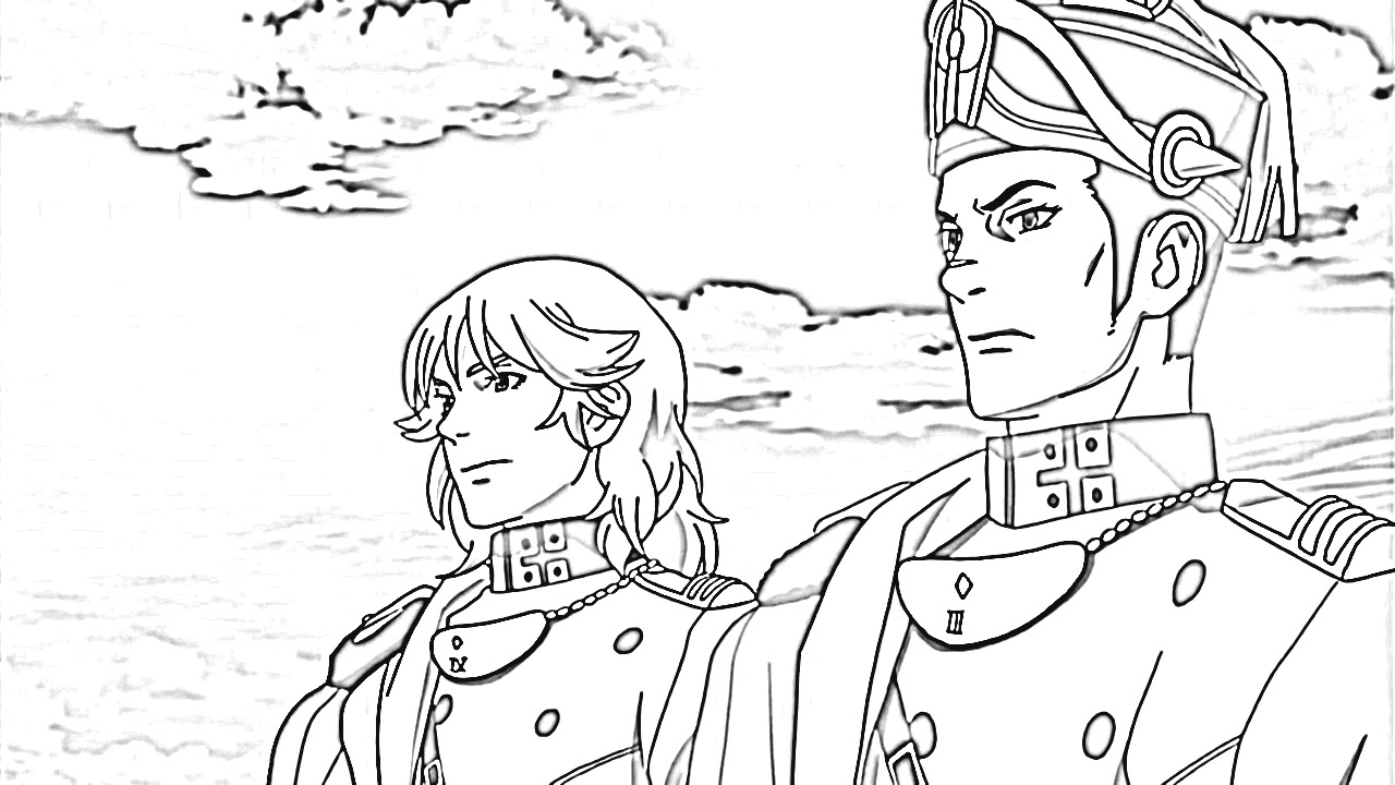 Last Exile Fam The Silver Wing Coloring Pages 5