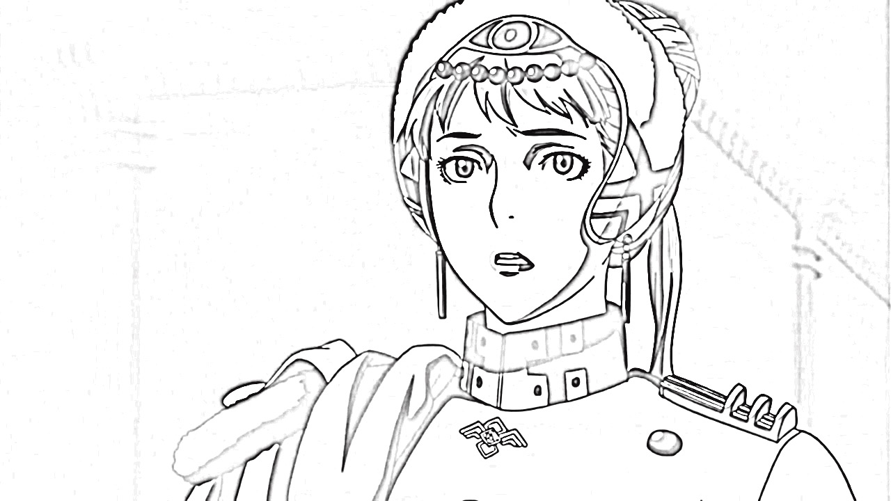 Last Exile Fam The Silver Wing Coloring Pages 6