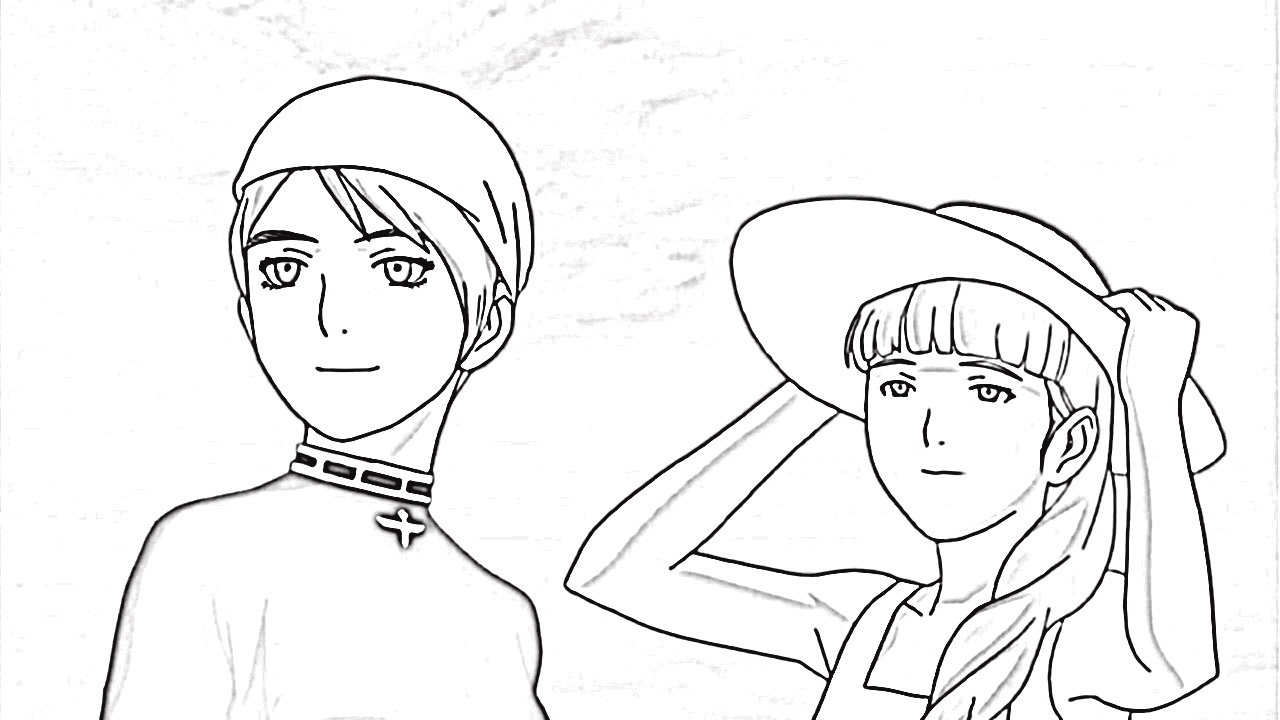 Last Exile Fam The Silver Wing Coloring Pages 7