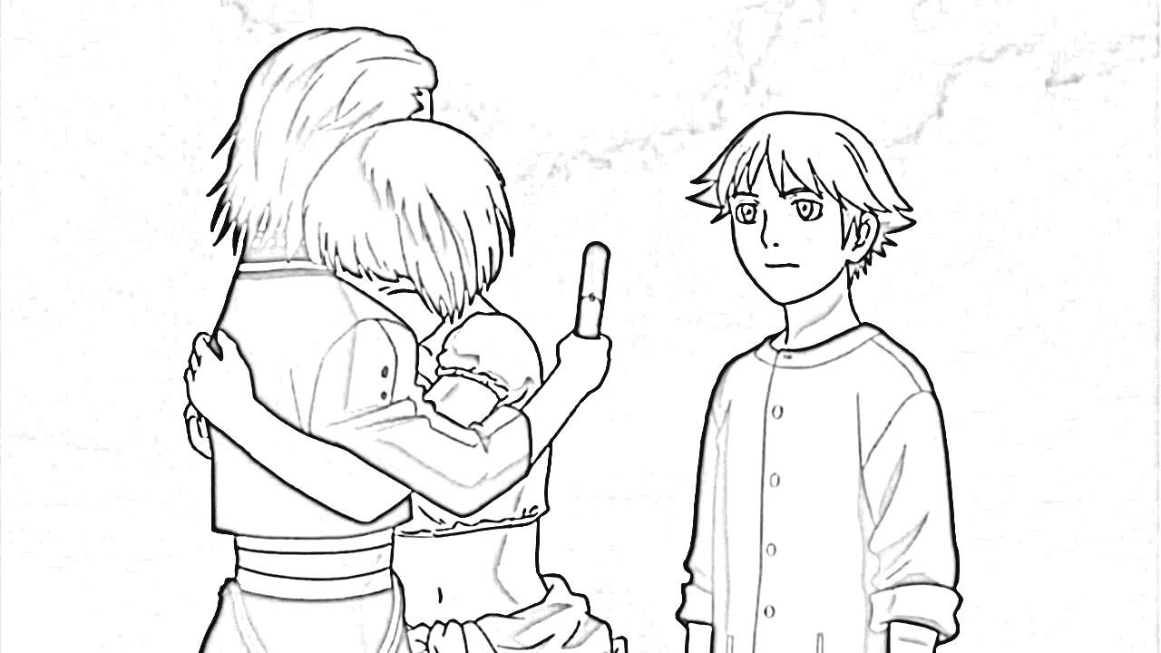 Last Exile Fam The Silver Wing Coloring Pages 8