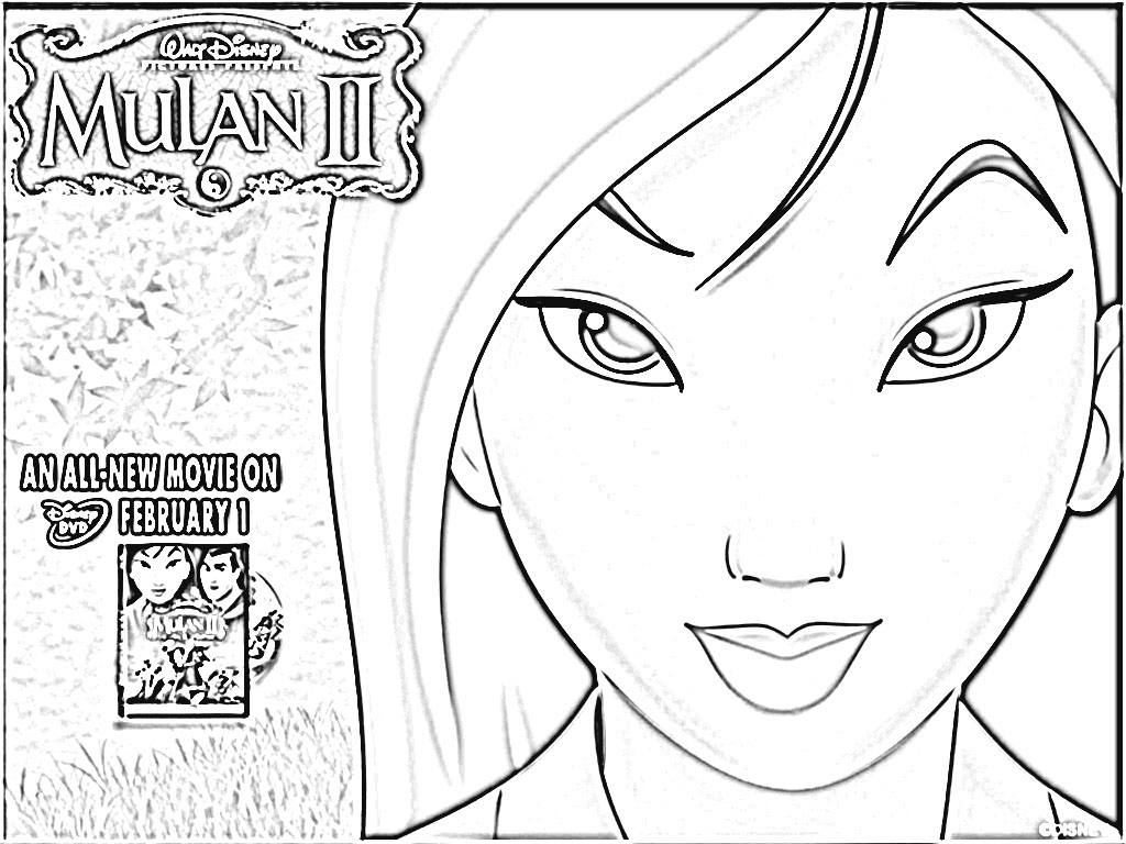 Coloring Pages Mulan 2 Coloring Pages mulan 2 coloring pages eassume com pages