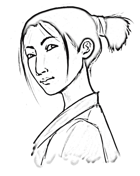 Mulan Coloring Pages 6