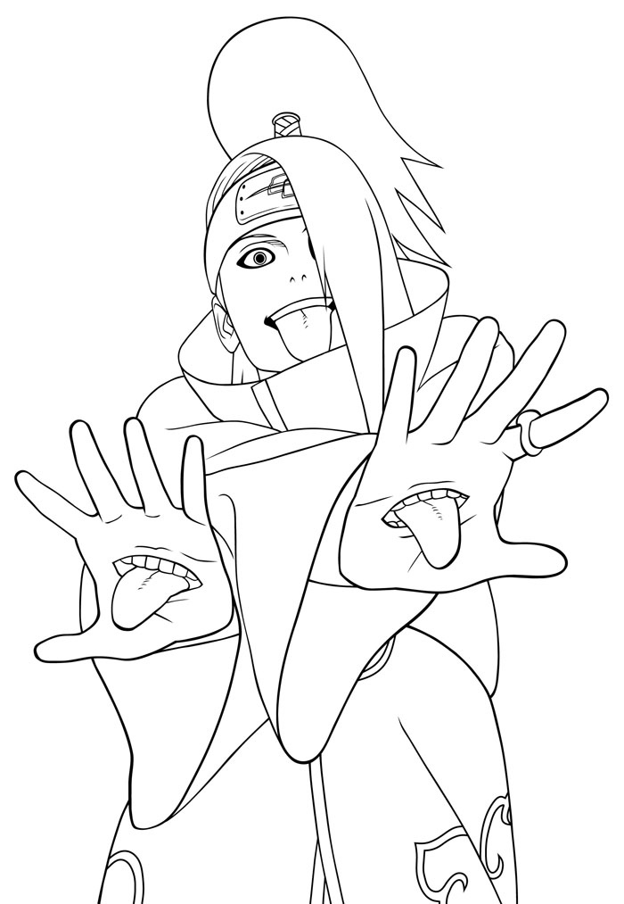 Naruto Coloring Pages 5