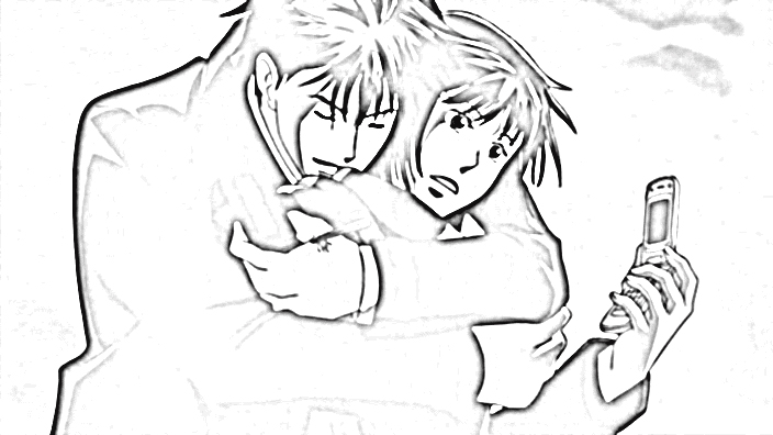 Nodame Cantabile Coloring Pages 1