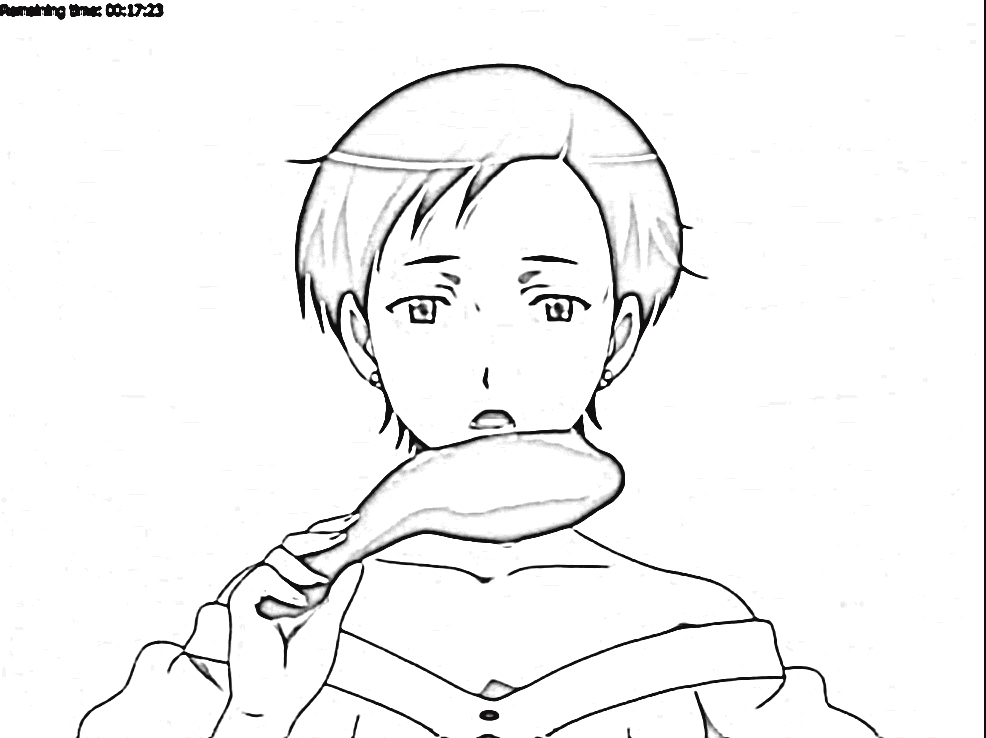 Nodame Cantabile Coloring Pages 7