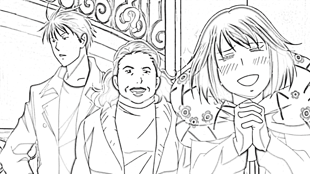 Nodame Cantabile Coloring Pages 8