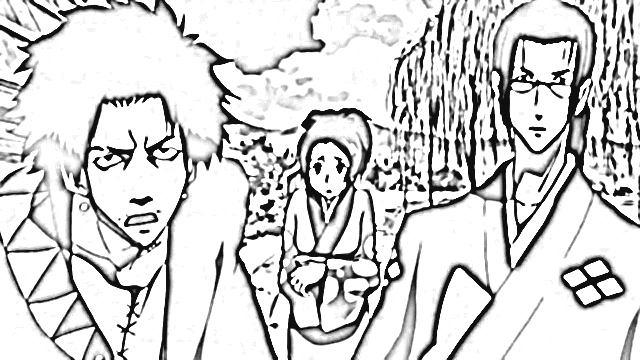 Samurai Champloo Coloring Pages 3