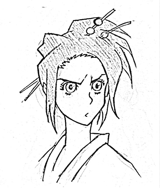 Samurai Champloo Coloring Pages 9