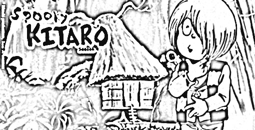 Spooky Kitaro Coloring Pages 2