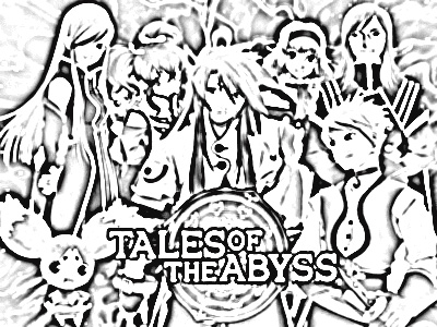 Tales of The Abyss Coloring Pages 6