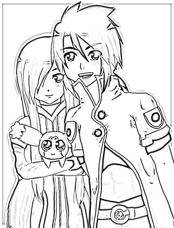 Tales of The Abyss Coloring Pages 7