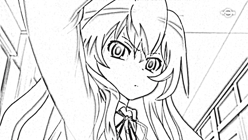 Tales of The Abyss Coloring Pages 8