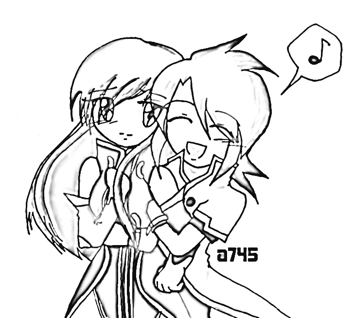 Tales of The Abyss Coloring Pages 9