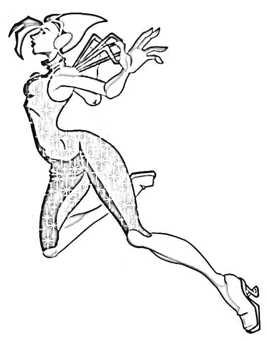 Winx Club Coloring Pages 7