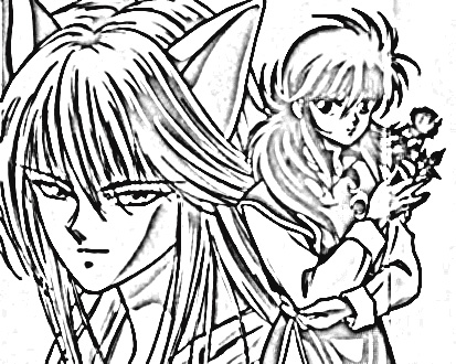 Yu Yu Hakusho Coloring Pages 3