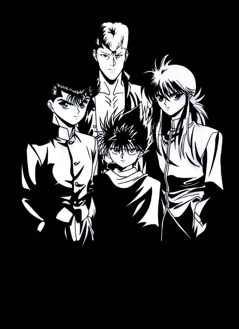 Yu Yu Hakusho Coloring Pages 7