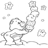 Care Bear Coloring Page 2