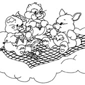 Care Bear Coloring Page 3