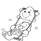 Care Bear Coloring Page 4