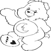 Care Bear Coloring Page 5