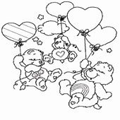 Care Bear Coloring Page 6