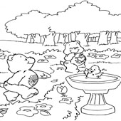Care Bear Coloring Page 7