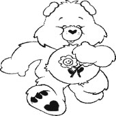 Care Bear Coloring Page 8